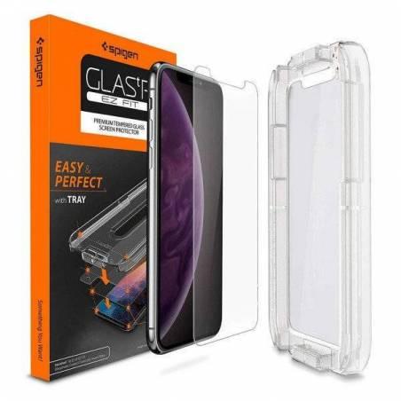 Стекло Spigen для iPhone XS...